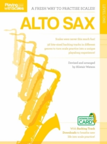 Playing With Scales : Alto Saxophone Level 1 (Book/Download), Paperback Book