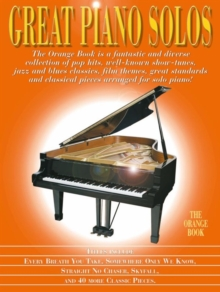 Great Piano Solos : The Orange Book, Paperback / softback Book