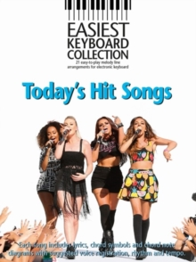 Easiest Keyboard Collection : Today's Hit Songs, Paperback Book