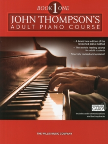 John Thompson's Adult Piano Course : Book One (Book/Download Card) Book one, Paperback Book