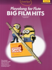 Guest Spot : Big Film Hits Playalong for Flute (Book/Audio Download), Mixed media product Book