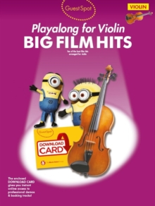 Guest Spot : Big Film Hits Playalong for Violin (Book/Audio Download), Mixed media product Book