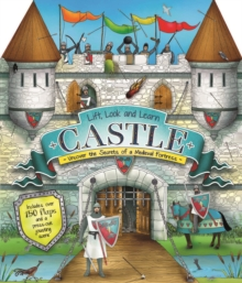Lift, Look and Learn Castle, Hardback Book