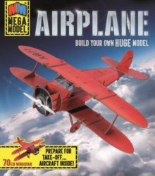 Mega Model: Airplane : Build your own huge model, Mixed media product Book
