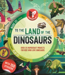 Paperplay - To the Land of the Dinosaurs, Mixed media product Book