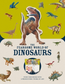 Paperscapes: The Fearsome World of Dinosaurs, Hardback Book