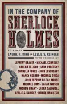 In the Company of Sherlock Holmes, Paperback Book