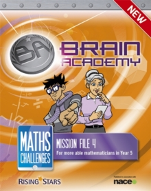 Brain Academy: Maths Challenges Mission File 4, Paperback / softback Book