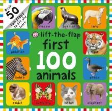 Lift-The Flap First 100 Animals, Board book Book