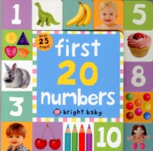 First 20 Numbers : Lift The Flap Tab Books, Board book Book