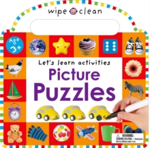 Puzzles and Games Sticker Book, Board book Book