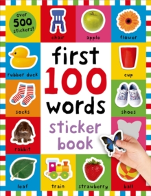 First 100 Words Sticker Book, Paperback Book