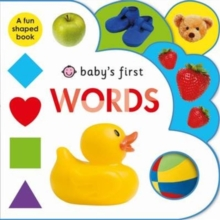 Words : Baby's First, Board book Book