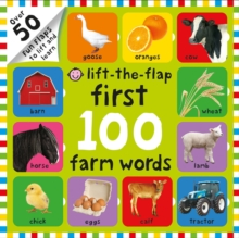 Lift-the-Flap First 100 Farm Words, Board book Book