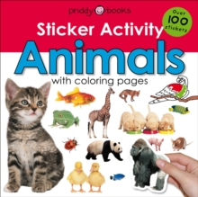 Sticker Activity Animals, Paperback / softback Book