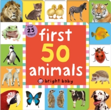 First 50 Animals, Board book Book