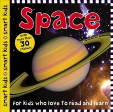 Smart Kids Sticker Space, Paperback / softback Book