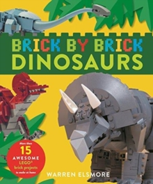 BRICK BY BRICK DINOSAURS,  Book