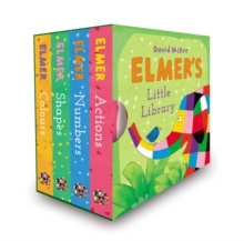 Elmer's Little Library, Board book Book