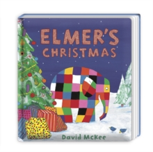 Elmer's Christmas : Mini Hardback, Board book Book