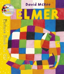 Elmer : Picture Book and CD, Paperback / softback Book
