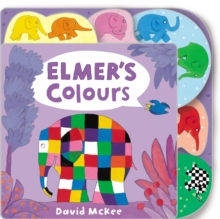 Elmer's Colours : Tabbed Board Book, Board book Book