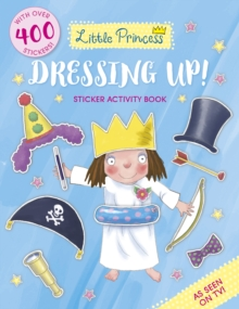 Little Princess Dressing Up! Sticker Activity Book, Paperback Book
