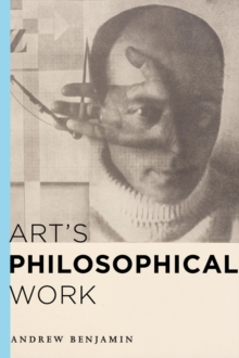 Art's Philosophical Work, Hardback Book