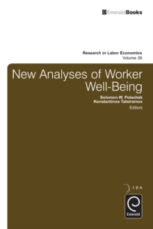 New Analyses in Worker Well-Being, Hardback Book