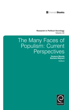 Many Faces of Populism : Current Perspectives, Hardback Book
