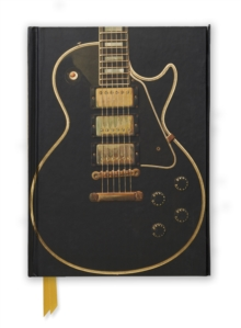 Gibson Les Paul Black Guitar (Foiled Journal), Hardback Book