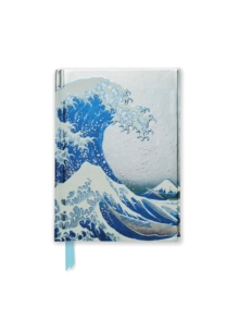 Hokusai: The Great Wave (Foiled Pocket Journal), Notebook / blank book Book