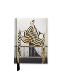 Erte: Balcony (Foiled Pocket Journal), Notebook / blank book Book