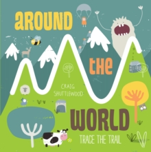 Trace the Trail: Around the World, Board book Book