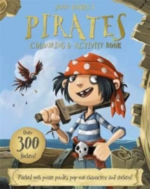 Jonny Duddle's Pirates Colouring & Activity Book, Paperback Book