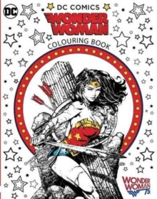 Wonder Woman Colouring Book, Paperback Book