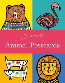 Jane Foster's Animal Postcard Book, Paperback Book