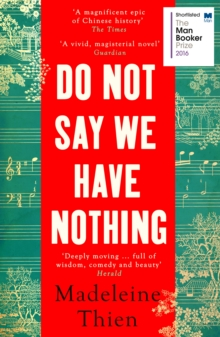 Do Not Say We Have Nothing, Paperback / softback Book