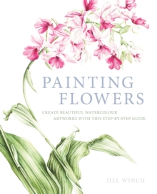 Painting Flowers, Paperback Book