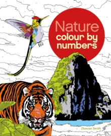 Nature Colour By Numbers, Paperback Book