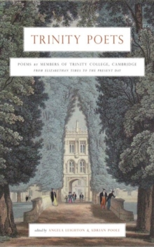 An Anthology of Poems by Members of Trinity College Cambridge, Paperback / softback Book