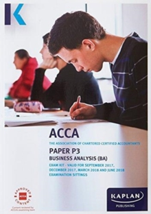 P3 Business Analysis - Exam Kit, Paperback Book