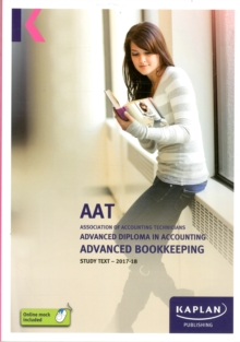Advanced Bookkeeping - Study Text, Paperback Book