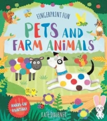 Fingerprint Fun: Pets and Farm Animals, Paperback Book