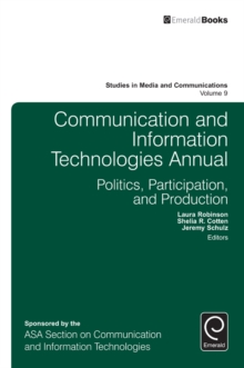 Communication and Information Technologies Annual, Hardback Book