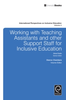 Working with Teachers and Other Support Staff for Inclusive Education, Hardback Book