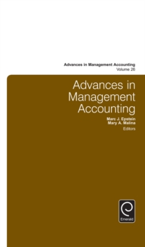 Advances in Management Accounting, Hardback Book
