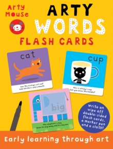 Arty Words Flash Cards, Cards Book
