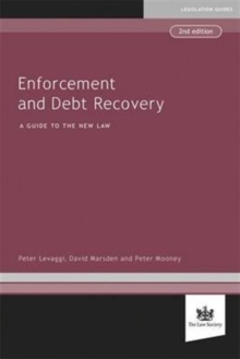 Enforcement and Debt Recovery, Paperback Book