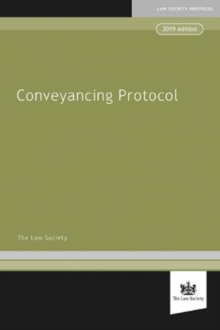 Law Society Conveyancing Protocol, Paperback / softback Book